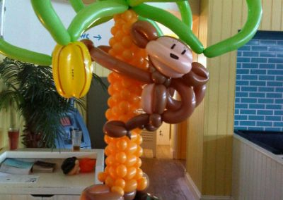 Monkeying around with balloons