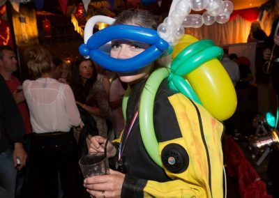 Scuba gear made from balloons!